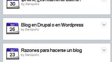 Transformar nuestro blog en WordPress en una versión para Iphone