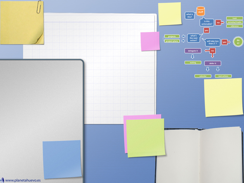 Organiza tu escritorio fondos de pantalla para gtd for Imagenes fondo escritorio